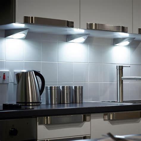 kitchen lighting uk gx53 trigon led triangle light 2218