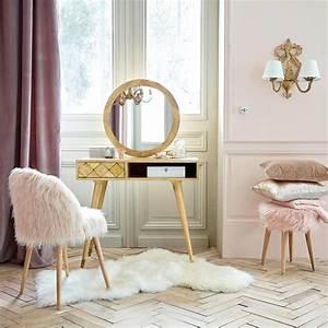 Dressing Maison Du Monde : coiffeuse 1 tiroir en manguier massif salome maisons du monde ~ Teatrodelosmanantiales.com Idées de Décoration