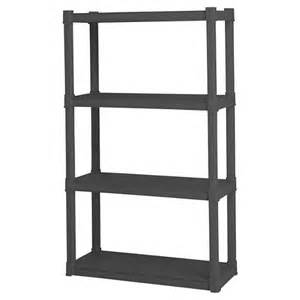 sterilite 174 4 shelf storage unit gray target