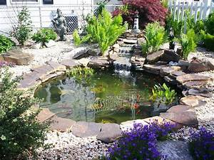 tudo o que voce deve saber para construir um pequeno lago With beautiful exemple d amenagement de jardin 8 bassin leos paysages