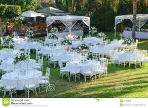 free outdoor wedding venues outdoor wedding reception wedding decorations stock photo image 49738624