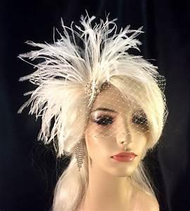 Bridal Feather Fascinator Bridal Fascinator Bridal