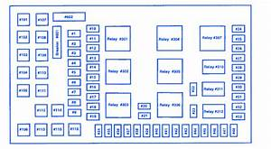 Ford F350 2004 Fuse Box  Block Circuit Breaker Diagram