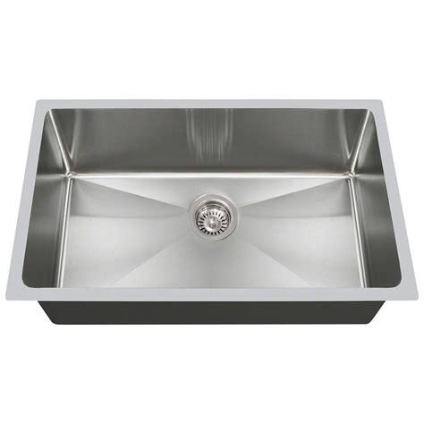 undermount single kitchen sink vigo farmhouse apron front stainless steel 36 in single 6601