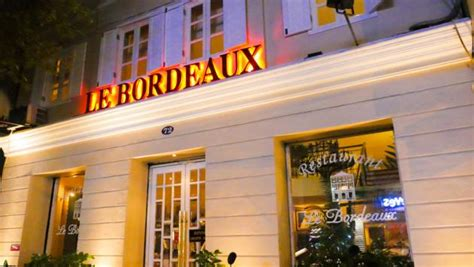 restaurant le bureau bordeaux le bordeaux restaurant saigon review by compass