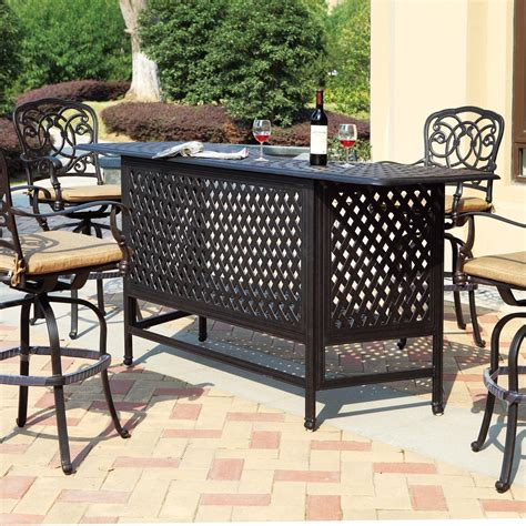 outdoor patio bar sets complement your home with outdoor nature top 20 outdoor
