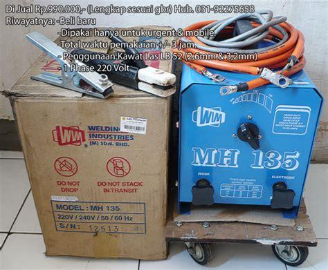 dijual mesin las listrik wim mh135 bekas 99