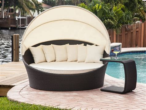mhg outdoor furniture tropea outdoor bed lounger