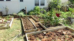 Designing A Raised Bed Vegetable Garden  A Fall Makeover