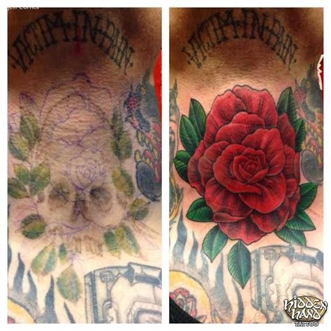cover    rose hidden hand tattoo seattle wa