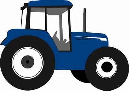 Tractor Vector Clip Drawing Clipart Cliparts Cartoon