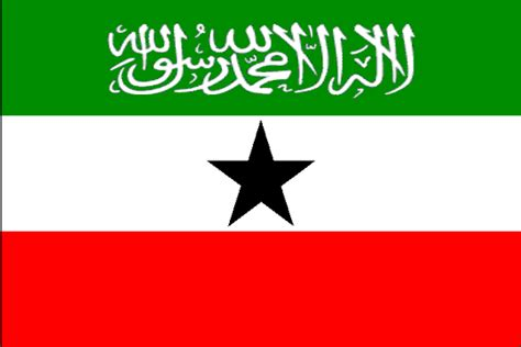The State Symbolics Of The Republic Of Somaliland. Flags