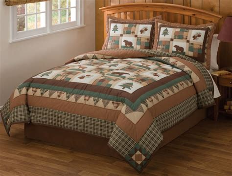 best 28 lodge style comforter sets sagamore lake plaid