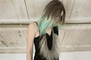 Dip Dyed Hair | Paint It Black