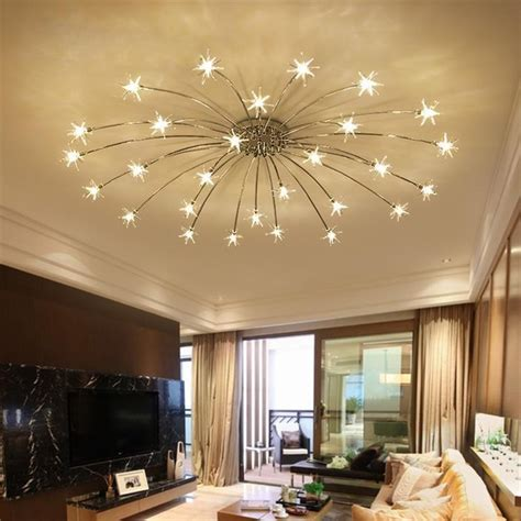 creative chandelier ceiling bedroom living room modern