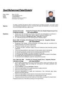 How To Address A Cover Letter To A Recruiter Cv Faisal For Food Science Processing And Technology