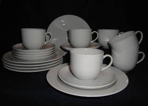 www arzberg porzellan arzberg porzellan form 1382 weiss kaffeeservice 18 tlg der scherbenshop