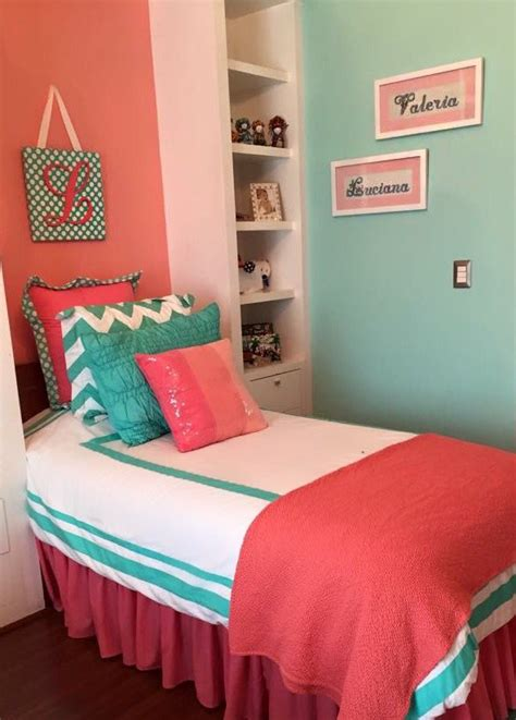 coral room decor ideas pinterest bed on coral aqua bedroom and peach turquoise bed coma frique