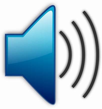 Sound Clip Clipart Audio Volume Waves Speaker