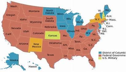 States United Death Penalty Svg Wikipedia Statutes