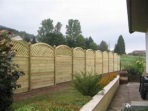 Panneaux Rigide Pour Cloture : panneau cloture bois ~ Edinachiropracticcenter.com Idées de Décoration