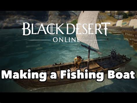 Bdo Afk Fishing Boat by Black Desert Online Epheria Port Fishing Heaven Doovi
