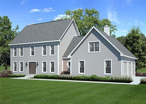 colonial floor plan house plan 24966 at familyhomeplans