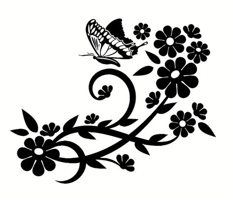 beautiful flower wall decals decor home designs insight