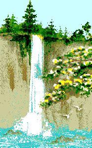 kostenlose wasserfall bilder gifs grafiken cliparts