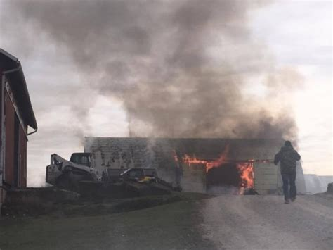 Holmes Co. Fire Results In Total Loss Of Barn