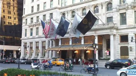 plaza hotel new york one of the best hotels in nyc youtube