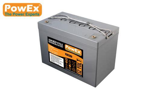agm batterie 100ah px 100 12 powex 12v 100ah sealed agm battery