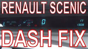 Renault Scenic Dashboard Repair  Fix Digital Dash Panel  Mend Faulty  Failed Display