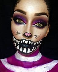 Best Cheshire Cat Costume Ideas And Images On Bing Find What You - Cat-costume-makeup