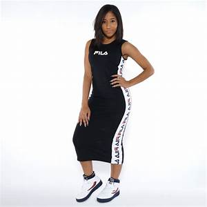 Fila Naomi Dress (LW165UQ2-001)  Apparel YCMC.com
