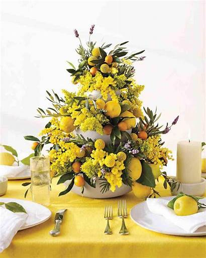 Centerpieces Diy Arrangements Table Floral Yellow Flowers