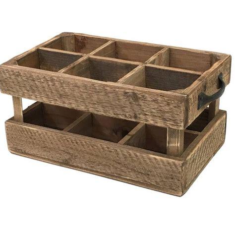 casier caisse porte bouteille bois ancien cagnard brocante style