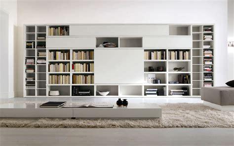 modern designed high  bookshelves