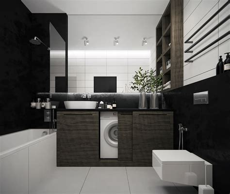 Modern Black Bathroom Ideas by 36 Modern Grey White Bathrooms That Relax Mind Soul