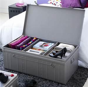 Cantine De Rangement : malle armoire en acier 2 en 1 ~ Teatrodelosmanantiales.com Idées de Décoration