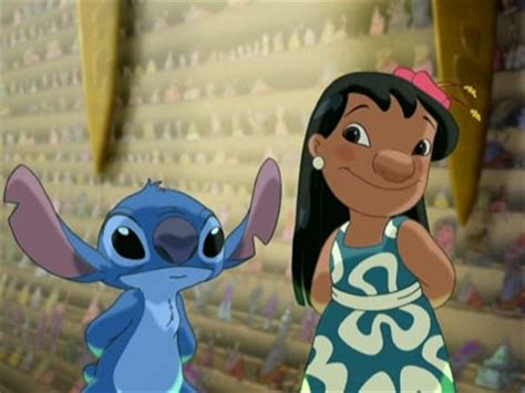 lilo leroy stitch screen captures animated views