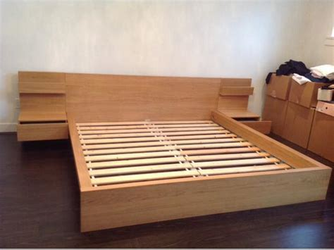 Ikea Malm King Size Headboard by Ikea Malm Bed Frame With Nightstand Furniture Design