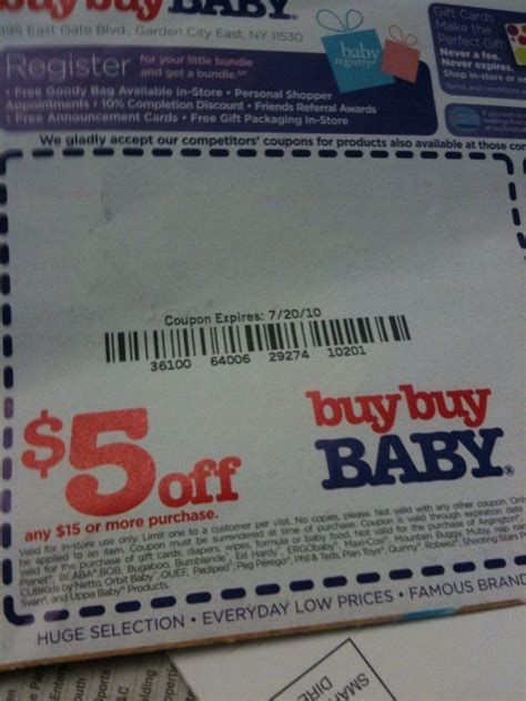 buy buy baby coupons accepted  bed bath  alcom