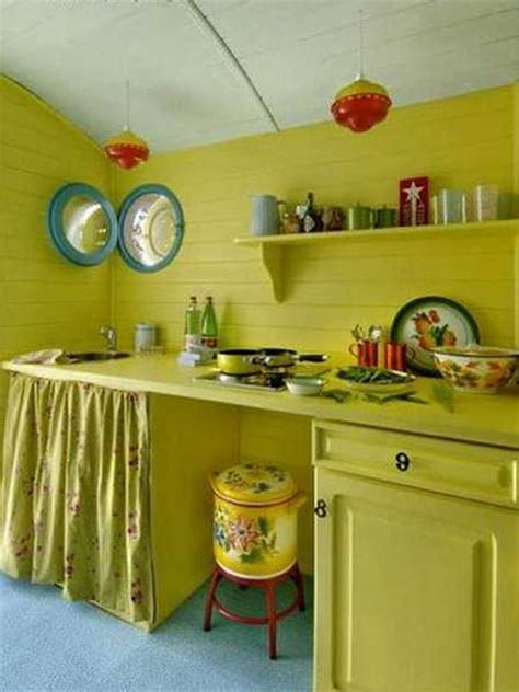 modern kitchen decor ideas  vintage style