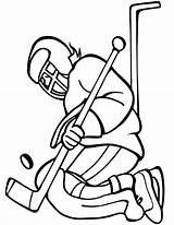 Hockey Puck Coloring Goal Catch Keeper Drawing Netart Pages Goalkeeper Ice Goalie Printable Getdrawings Goals sketch template