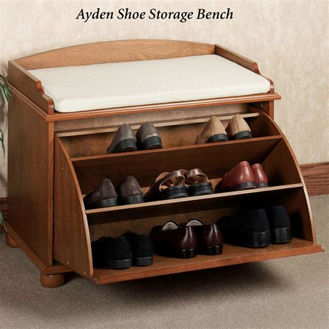 woodwork build shoe rack bench  plans