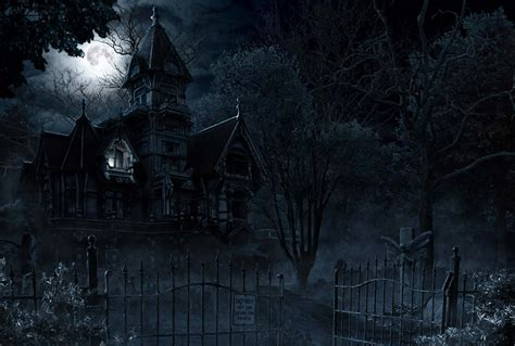 The Nightmare Before Christmas Wallpapers Haunted House And Mansion Ghost