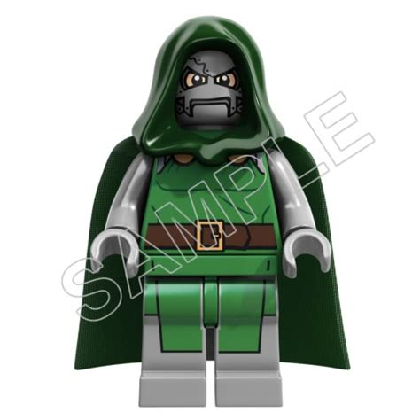lego game dr doom  shirt iron  transfer decal
