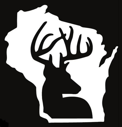 pin  deer hunting silhouettes vectors clipart svg