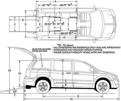 dodge grand caravan commercial wheelchair vans